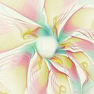 Pastel Flower by Deborah  Benoit