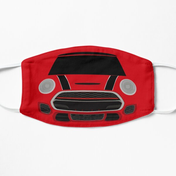 Red italian Job Masque sans plis