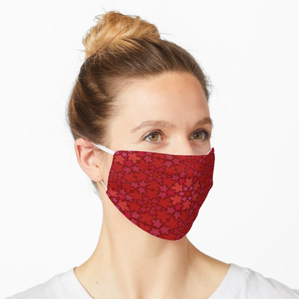 Meeple Floral Print Mask