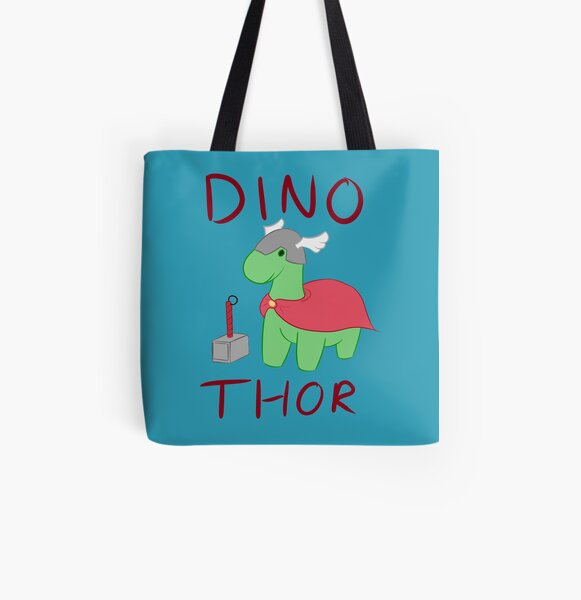 Dino - Thor All Over Print Tote Bag