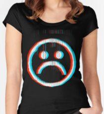 Sad Glitch Women's Fitted Scoop T-Shirt