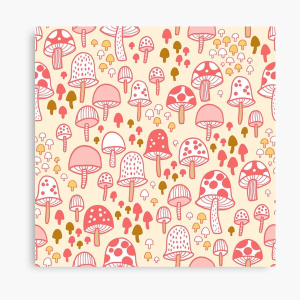 Mushroom Forest Canvas Print