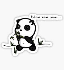 Nom nom Sticker
