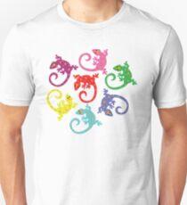 Colorful Lizards Unisex T-Shirt