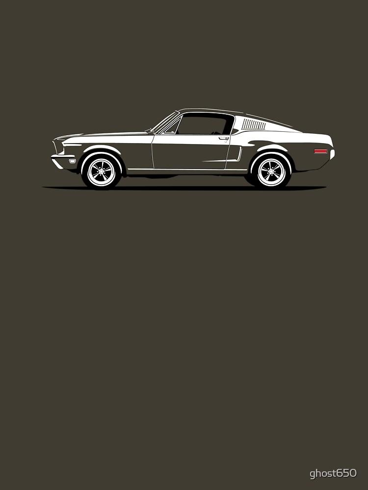 Bullitt Mustang by ghost650