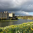 Leeds Castle in Kent United Kingdom by kirilart