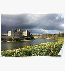 Leeds Castle in Kent United Kingdom Poster