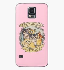 Cats Against Cat Calls Case/Skin for Samsung Galaxy