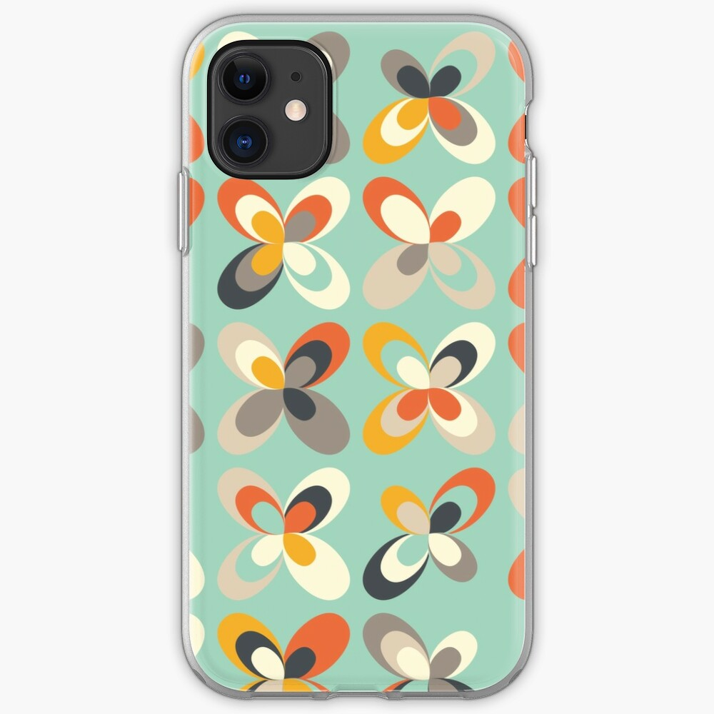 Retro seasons 03, Spring vibes iPhone Case & Cover