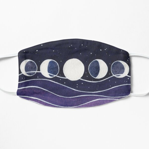 Purple Mountains and Moon Mask