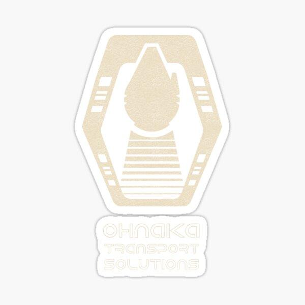 Interstellar Transport Solutions Sticker