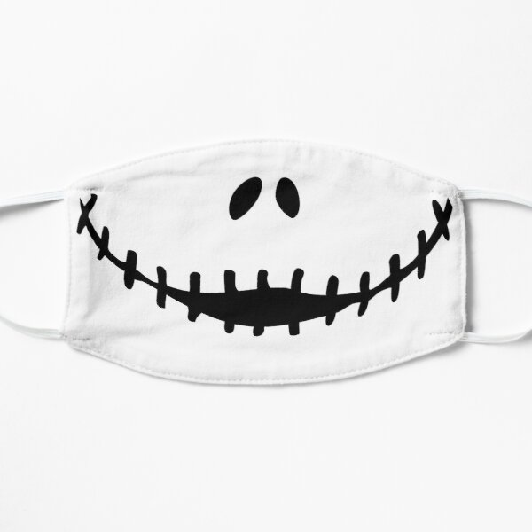Nightmare smiling Jack Skellington Face mask Mask