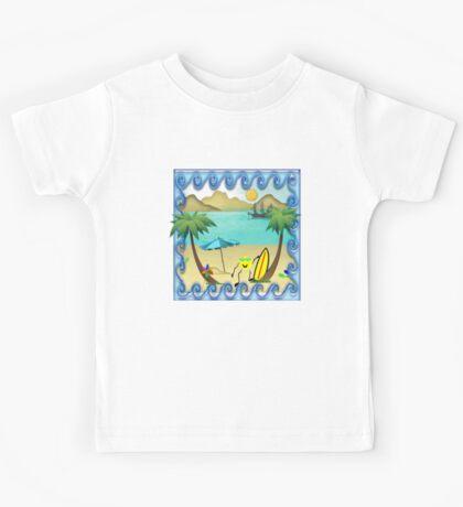 Summer Fun Tshirt - For Kids Kids Clothes