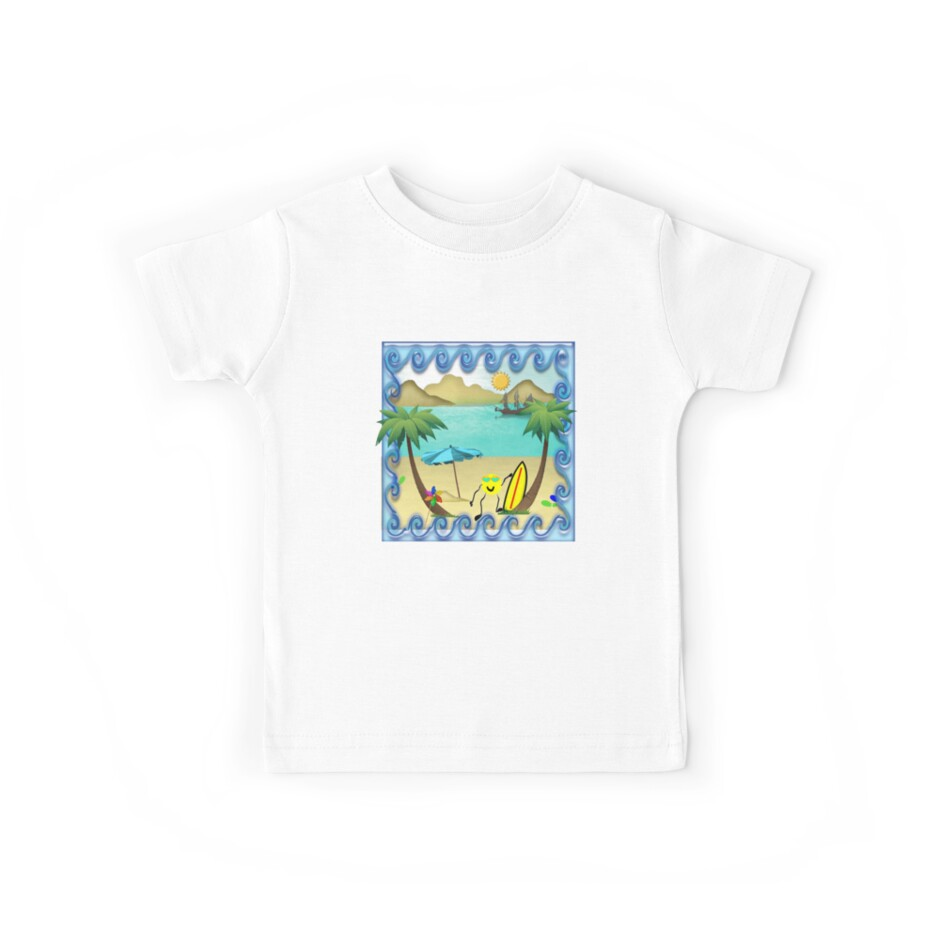 Summer Fun Tshirt - For Kids by judygal