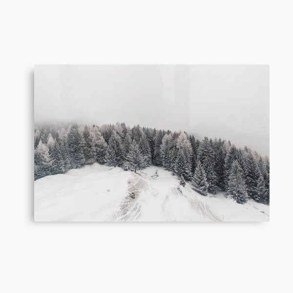 White Out | Nature and Landscape Photography Canvas Print