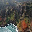 Napali Coast, Kauai'i, Hawaii by MaureenS