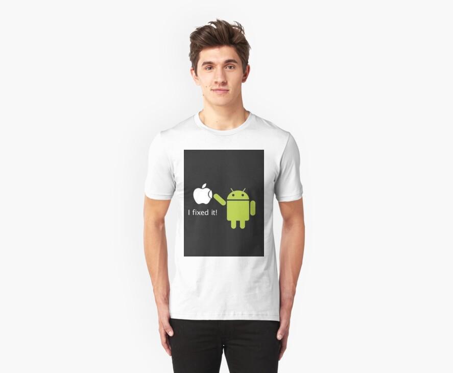 Android repairs apple by Phil Ellis