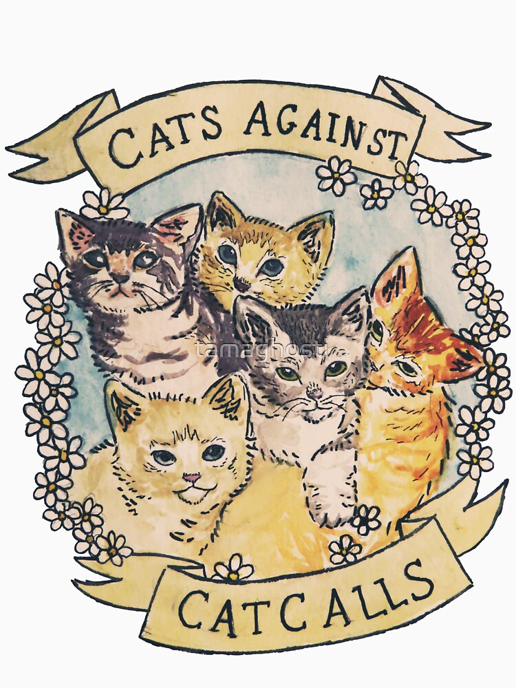 TShirtGifter presents: Cats Against Cat Calls | Unisex T-Shirt