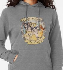 Cats Against Cat Calls Lightweight Hoodie