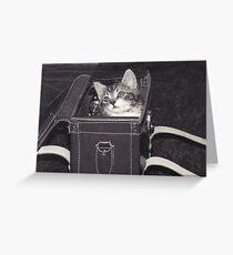 Kitbag Greeting Card