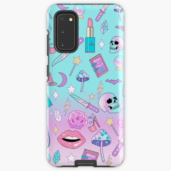 Girly Pastel Witch Goth Pattern Samsung Galaxy Tough Case