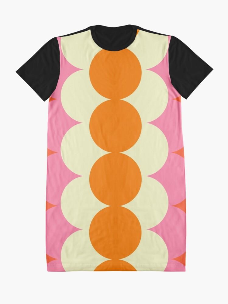 Alternate view of Gradual Sixties  Graphic T-Shirt Dress
