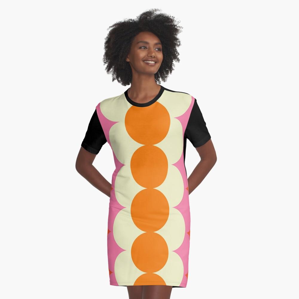 Gradual Sixties  Graphic T-Shirt Dress