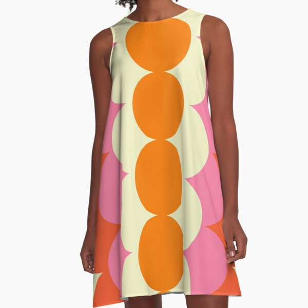 Gradual Sixties  A-Line Dress
