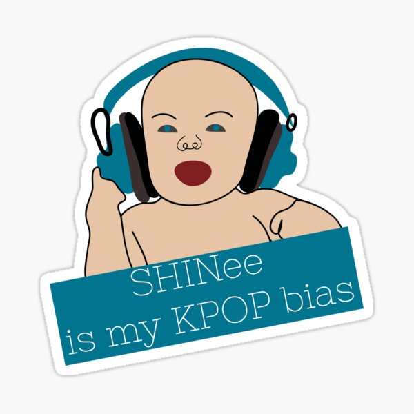 My KPop Bias! Sticker