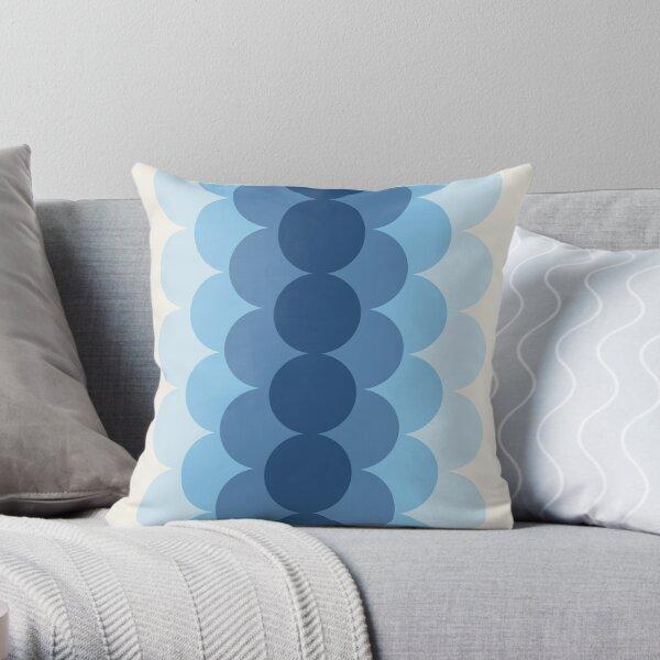 Gradual Glacial Throw Pillow