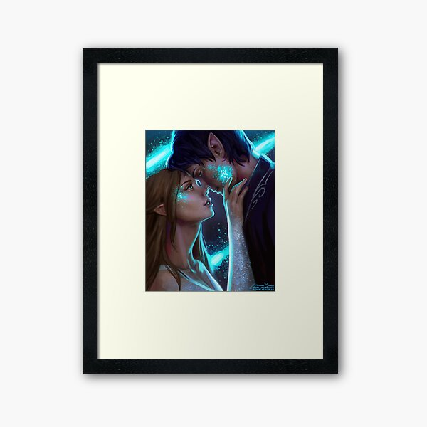 Starfall Framed Art Print