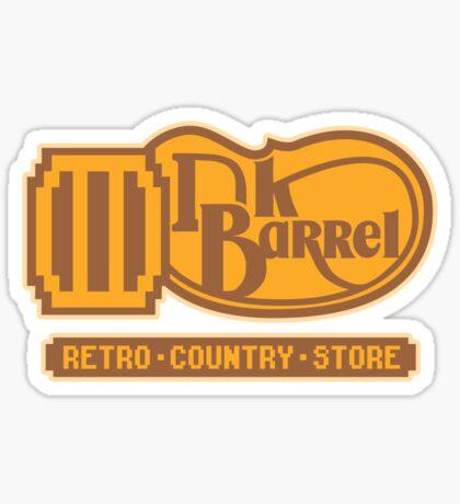 DK BARREL Sticker