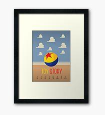 Toy Story Minimalism Framed Print