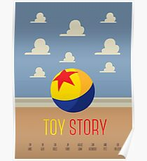 Toy Story Minimalism Poster