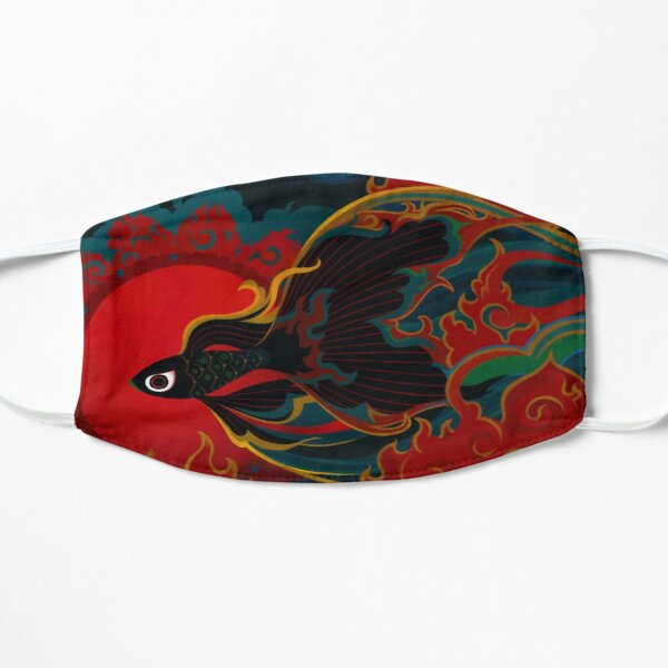 Fire fish Mask