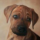 Puppy Jeff by Valena Lova