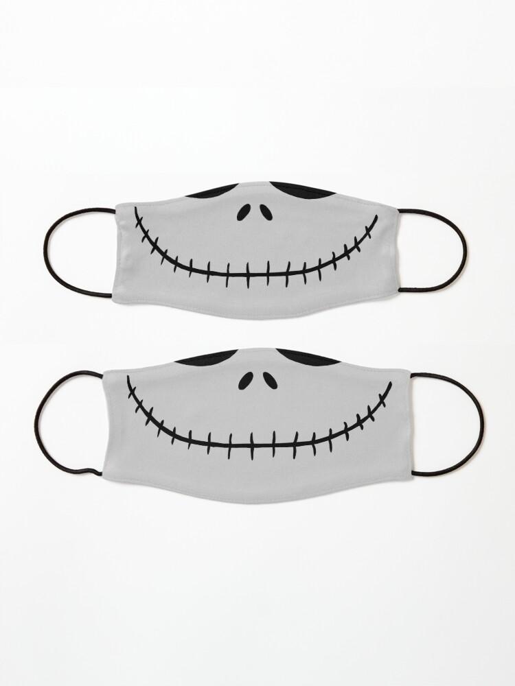 Alternate view of Skellington Smile Mask