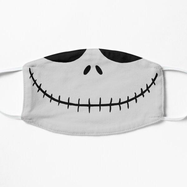 Skellington Smile Mascarilla plana