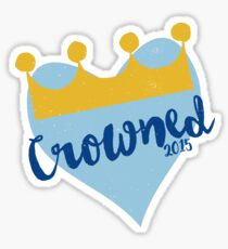 Crowned 2015 Sticker