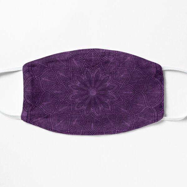 Purple Mandala Distressed Mask