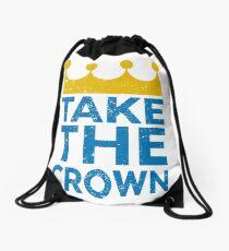 Take the Crown Drawstring Bag