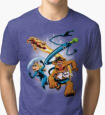 The Muptastic Four Tri-blend T-Shirt