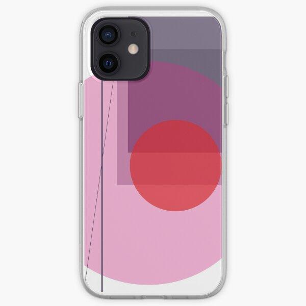 GEO POP WHITE iPhone Soft Case