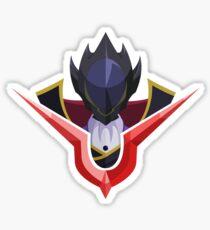 Lelouch (Zero) Code Geass Sticker