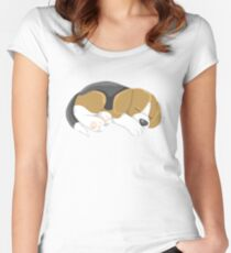 Sleeping Puppy Women's Fitted Scoop T-Shirt