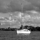 boat standing bright by LisaBeth