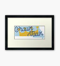 Crown Town Framed Print