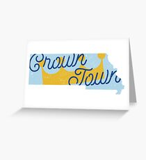 Crown Town Greeting Card