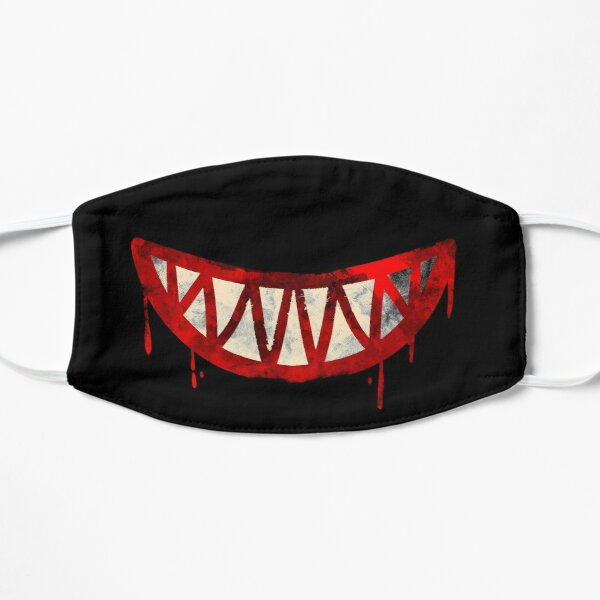 The Bloody Cheshire Cat Flat Mask