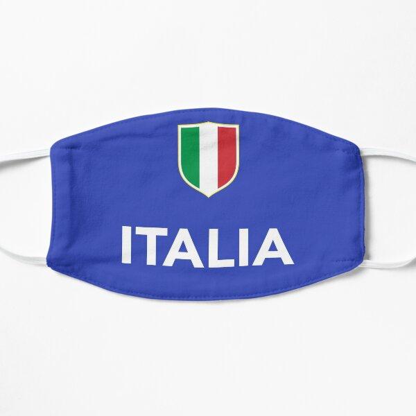 Italie Italien Forza Azzurri Masque sans plis
